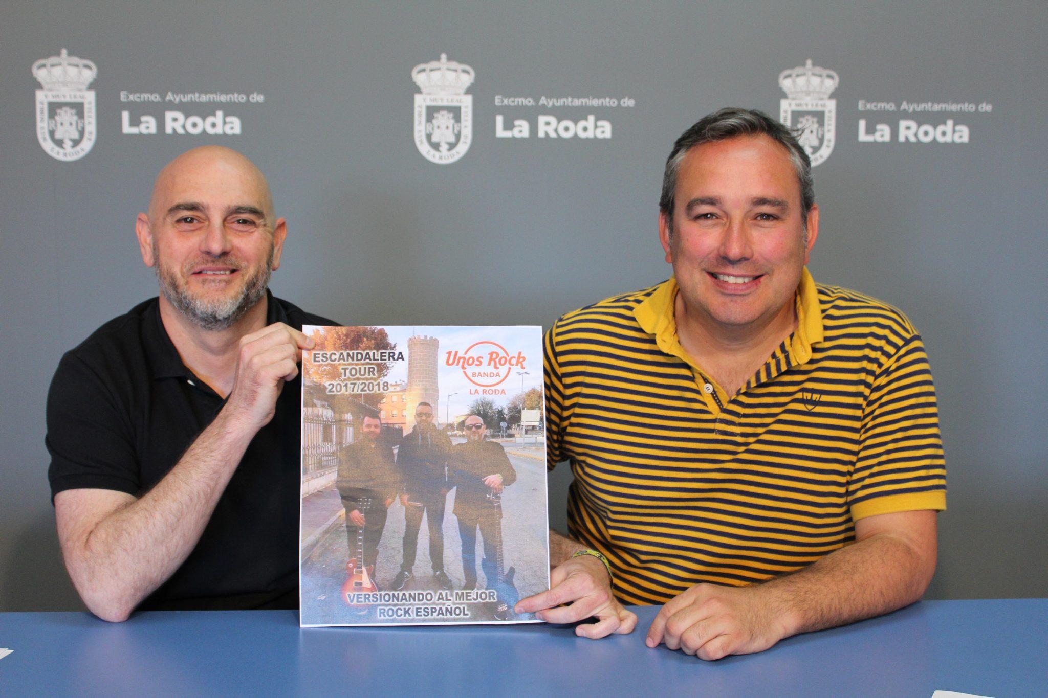"""Los Rodenses """"Unos Rock Band"""" Actuarán En La Noche De Tributos De Las Fiestas Mayores"""