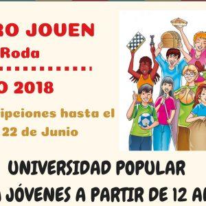Universidad Popular Juvenil 2018