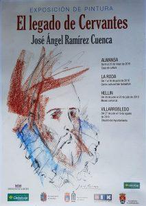 """""""EL LEGADO DE CERVANTES""""  Exposición de Pintura de José Ángel Ramírez Cuenca @ Centro Cultural S. Sebastián"""