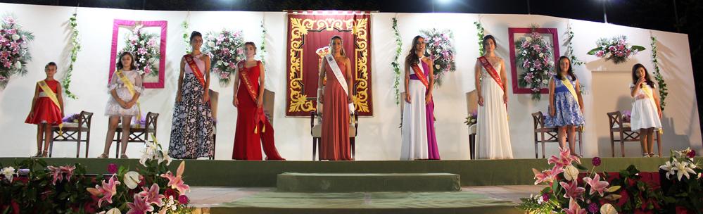 María García-Calvo Charco Fue Coronada Reina De Las Fiestas Patronales De La Roda 2018