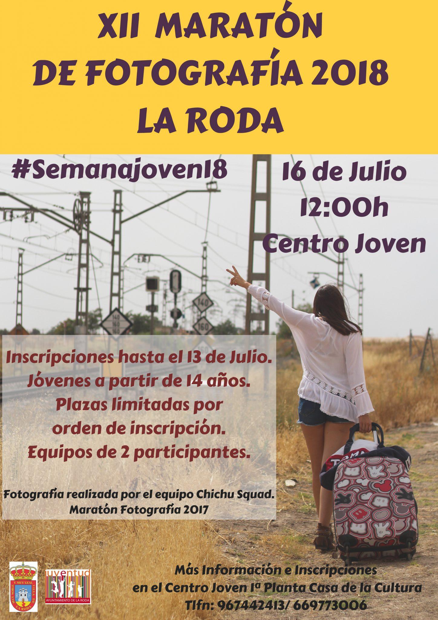 XII MARATÓN DE FOTOGRAFÍA 2018LA RODA