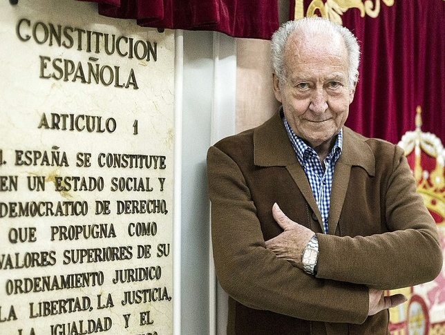 Actos Conmemorativos En El 40 Aniversario De La Constitución Española
