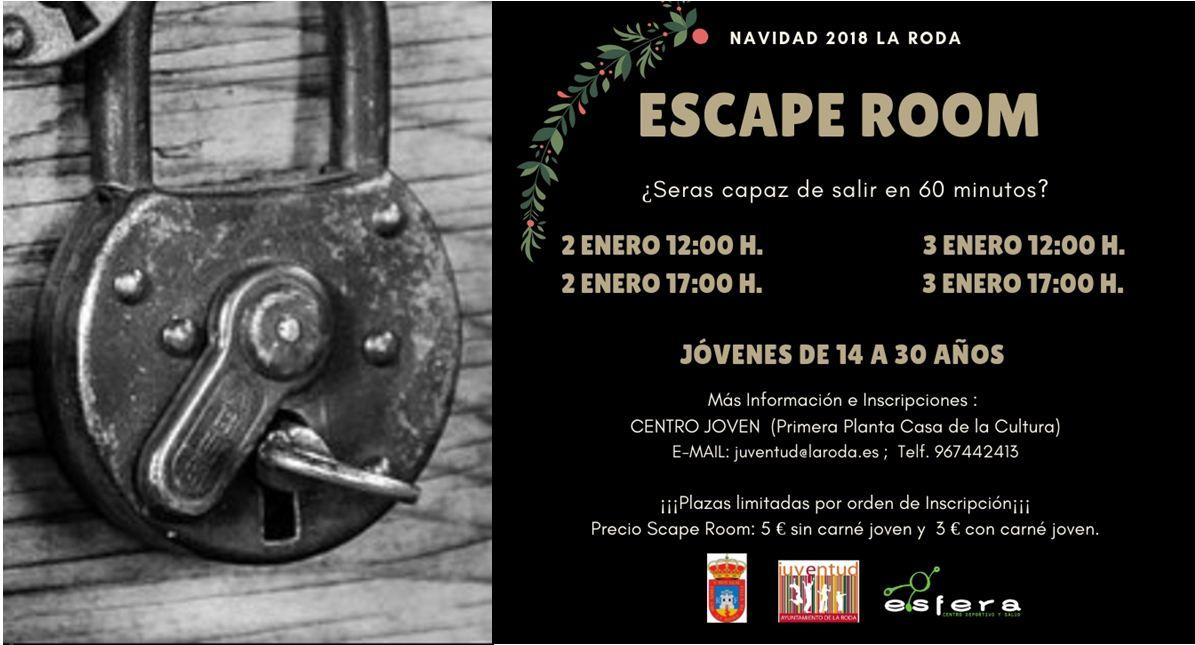 Esta Navidad, Cita Con Escape Room