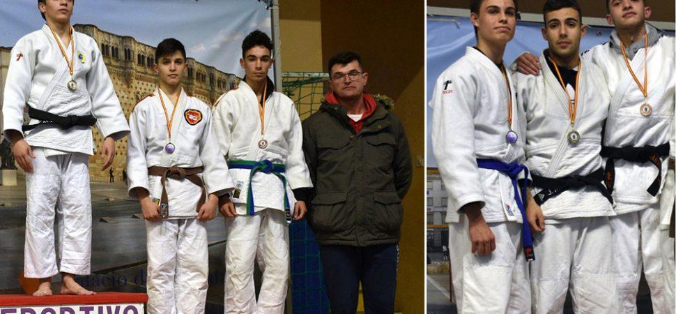 Álvaro Carrilero Y José Antonio Moya Campeones Regionales De Judo