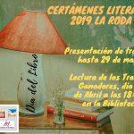 Certámenes Literarios 2019