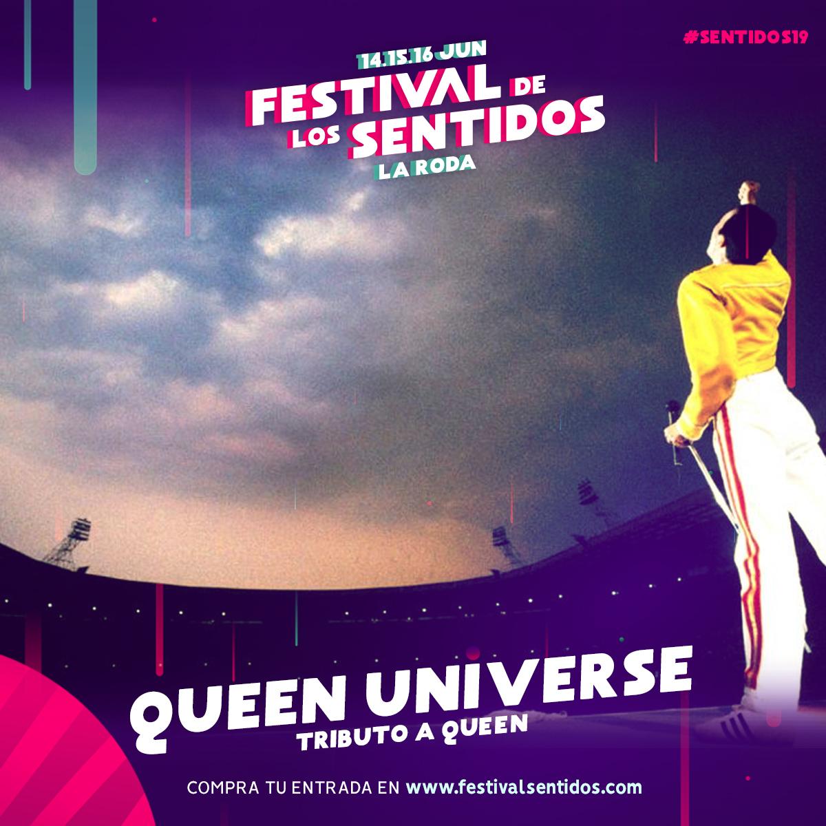 Tributo A Queen En #Sentidos19
