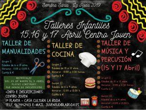 Talleres Infantiles de Semana Santa @ Casa de la Cultura de La Roda