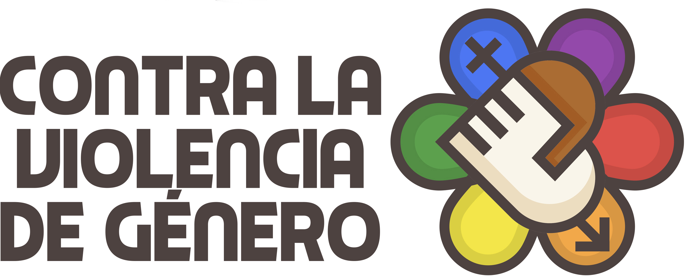 Ya Hay Logotipo Ganador Contra La Violencia De Género