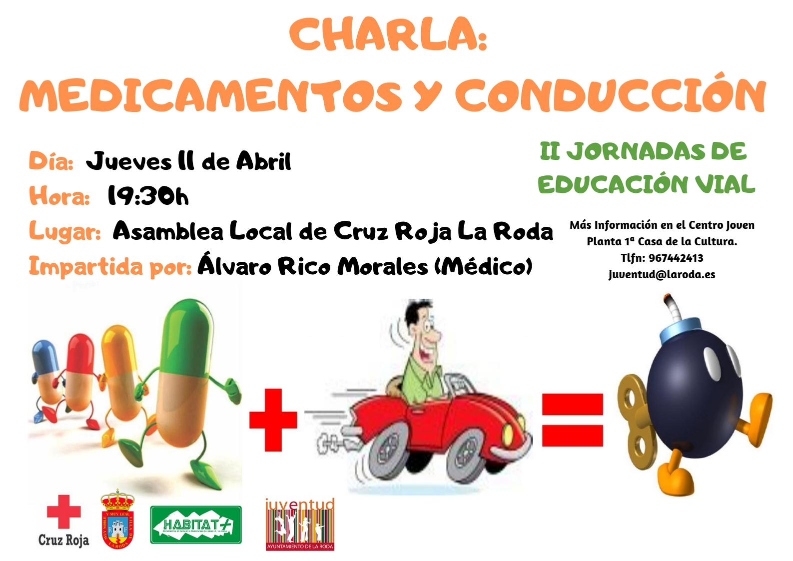 Charla II JORNADAS DE EDUCACIÓN VIAL