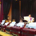Los Talleres De Bordados Y Acordeón De La UP Celebran El Fin De Curso