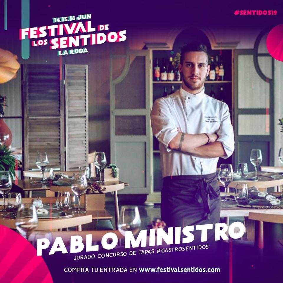 El Chef Pablo Ministro, Jurado De Excepción En La Feria De La Tapa De #Sentidos19