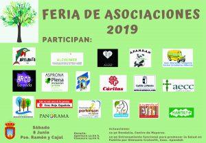 Feria Asociaciones 8 Junio @ Paseo Ramón y Cajal