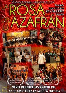 Zarzuela La Rosa del Azafran @ Auditorio Casa de la Cultura