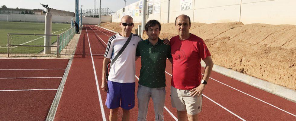 Finalizadas Las Obras De Las Zonas Técnicas De Entrenamiento De Atletismo