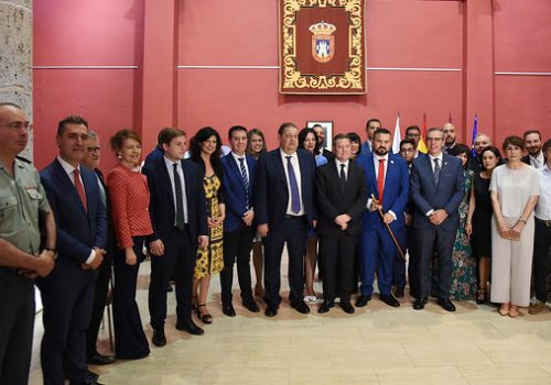 Juan Ramón Amores, Investido Alcalde De La Roda