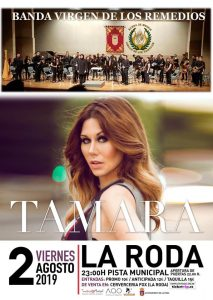 Concierto Banda Virgen de los Remedios y Tamara @ Pista Municipal
