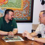 Visita Del Subdelegado De Defensa En Albacete