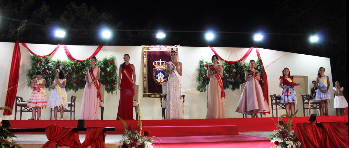 Celia Sevilla, Coronada Reina De Las Fiestas Mayores De La Roda 2019