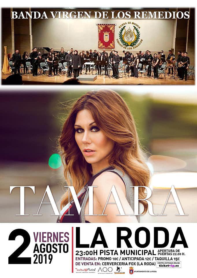 Tamara Y La Banda De Música Virgen De Los Remedios Actuarán El 2 De Agosto