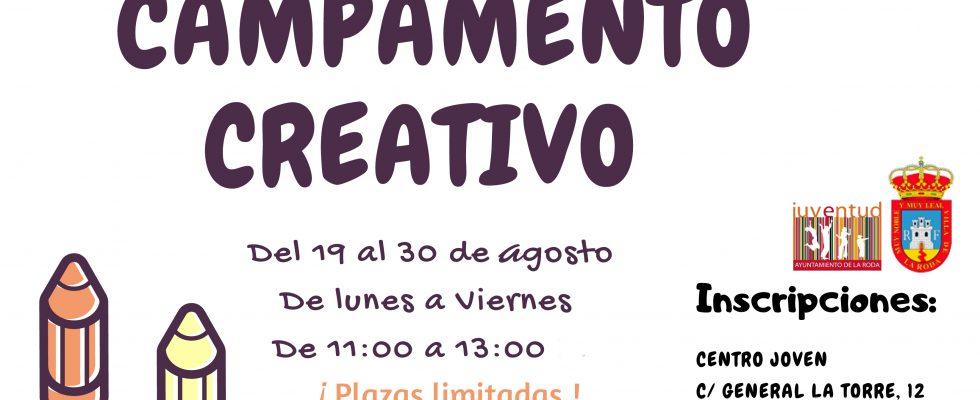 """""""Campamento Creativo"""" En Agosto"""