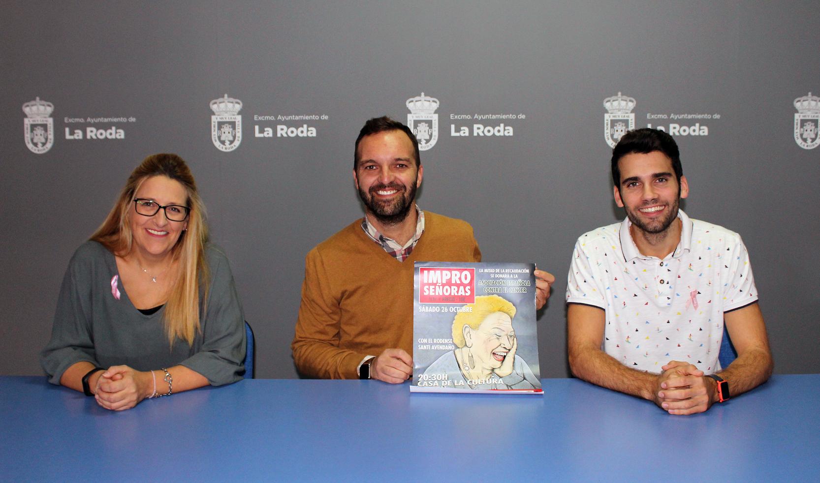 Impro Señoras, Risas Solidarias Con Santi Avendaño