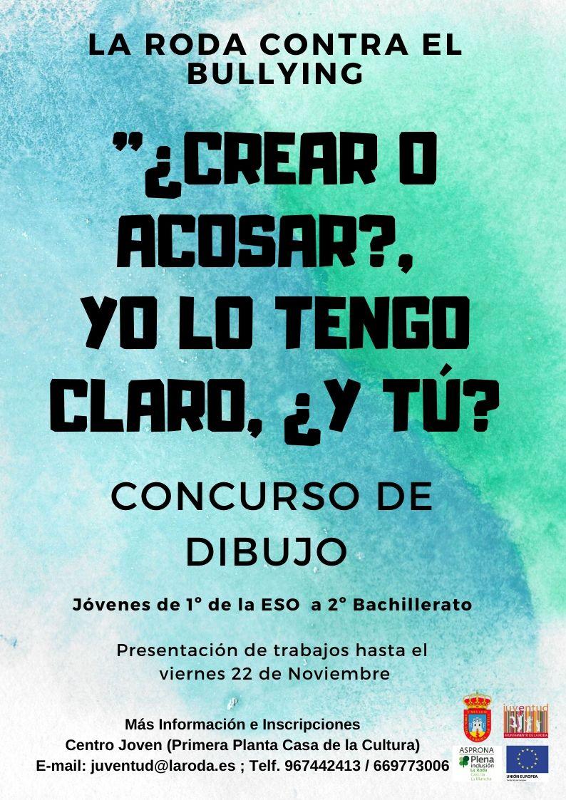 ¿CREAR O ACOSAR , YO LO TENGO CLARO, ¿Y TÚ