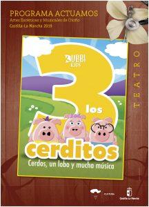 Los Tres Cerditos @ Auditorio Casa de la Cultura