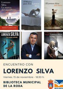 Encuentro con Lorenzo Silva @ Biblioteca Municiapl