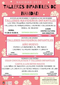 Talleres  Infantiles Navidad @ Centro Cultural San Sebastian