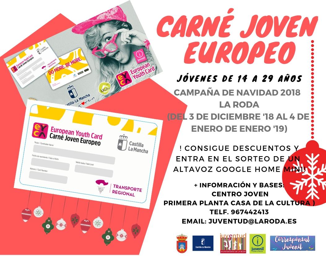 Carné Joven Campaña Navidad