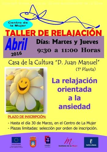Taller De Relajacion La Roda