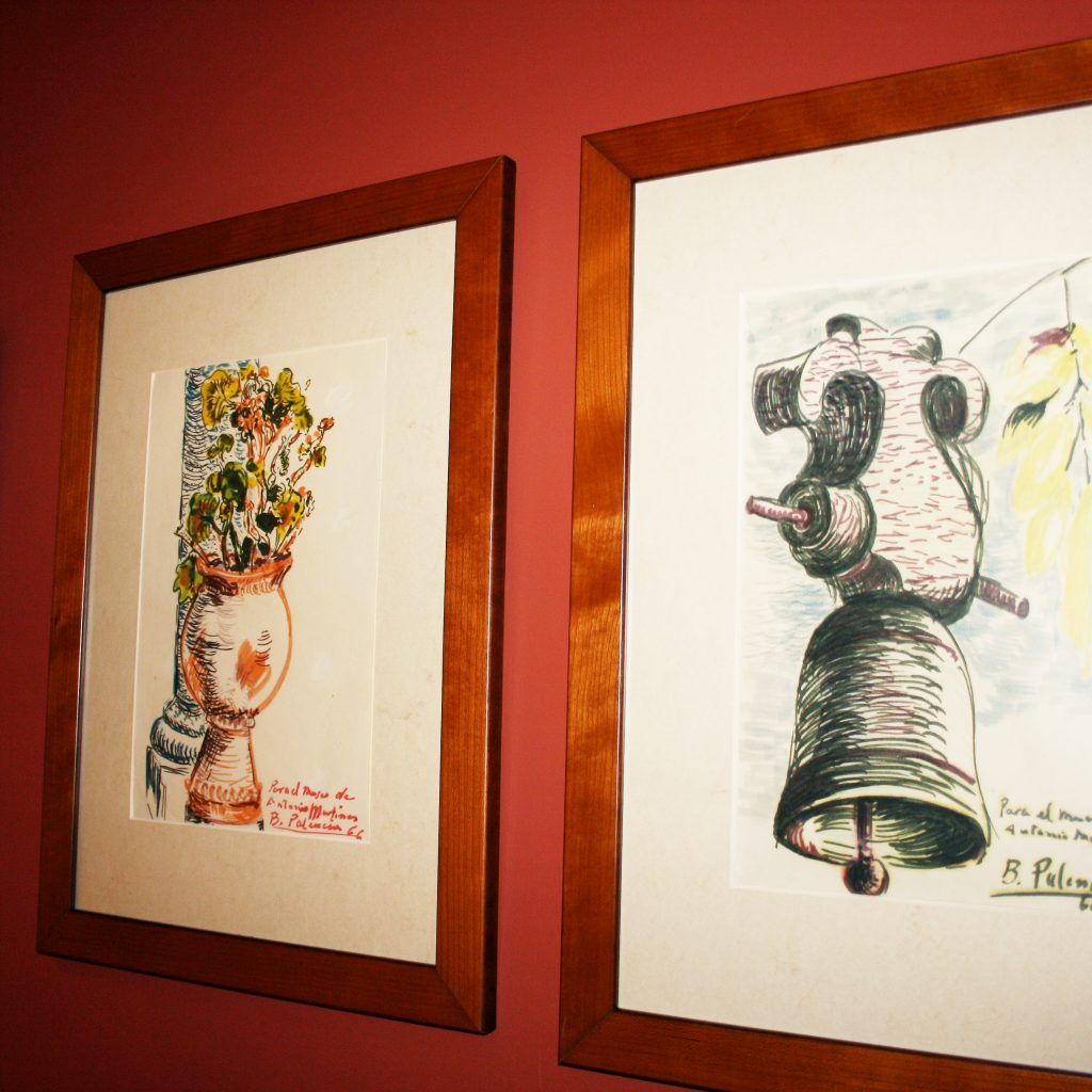 Dibujos Y Grabados De Benjamín Palencia