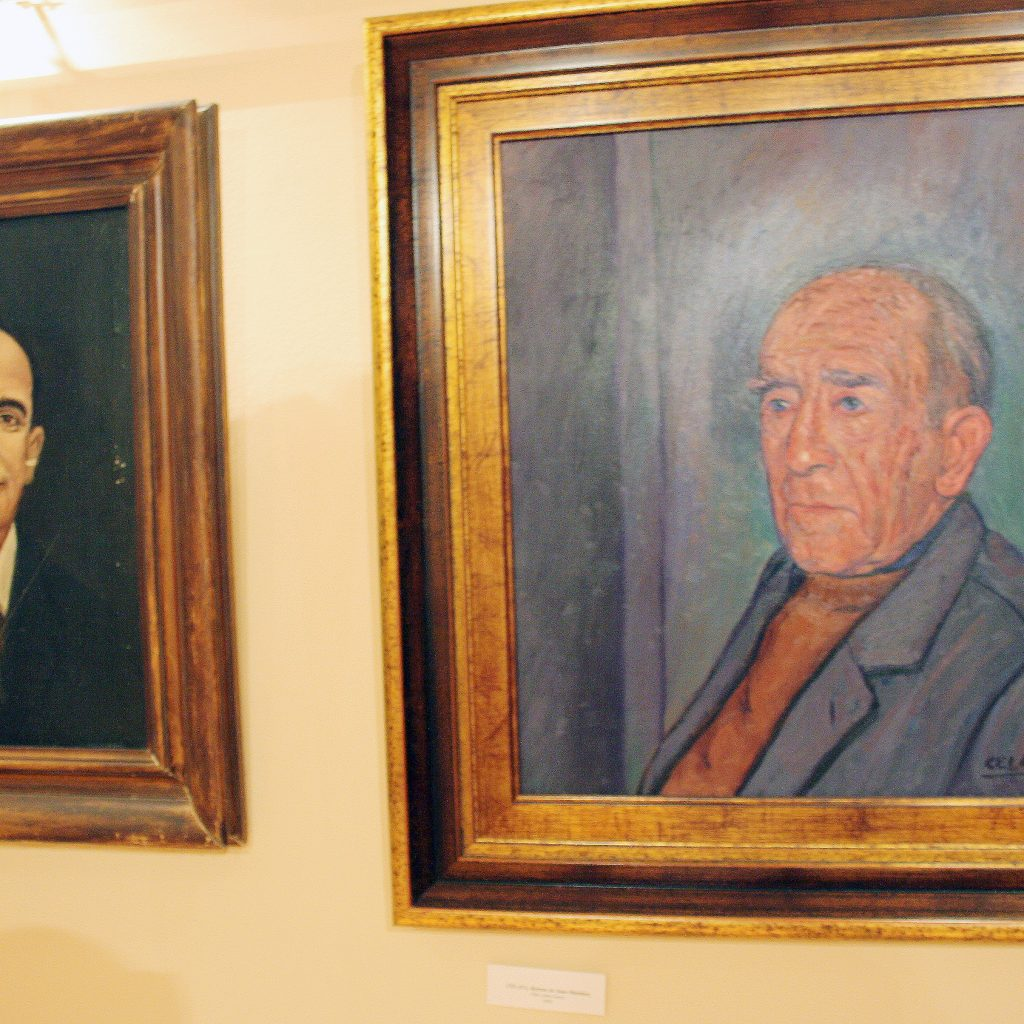 Retratos De Los Hermanos Antonio Y Juan Martinez