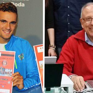 Andrés Martínez,  Oro Al Mérito Deportivo, Y David Castro, Medalla De Plata