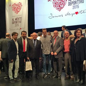 Los Rodenses Andrés Martínez Y David Castro Recogieron Sus Distinciones Al Mérito Deportivo