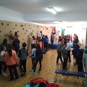 Escuela De Deporte Acerca A Los Escolares La Pasión Por La Escalada