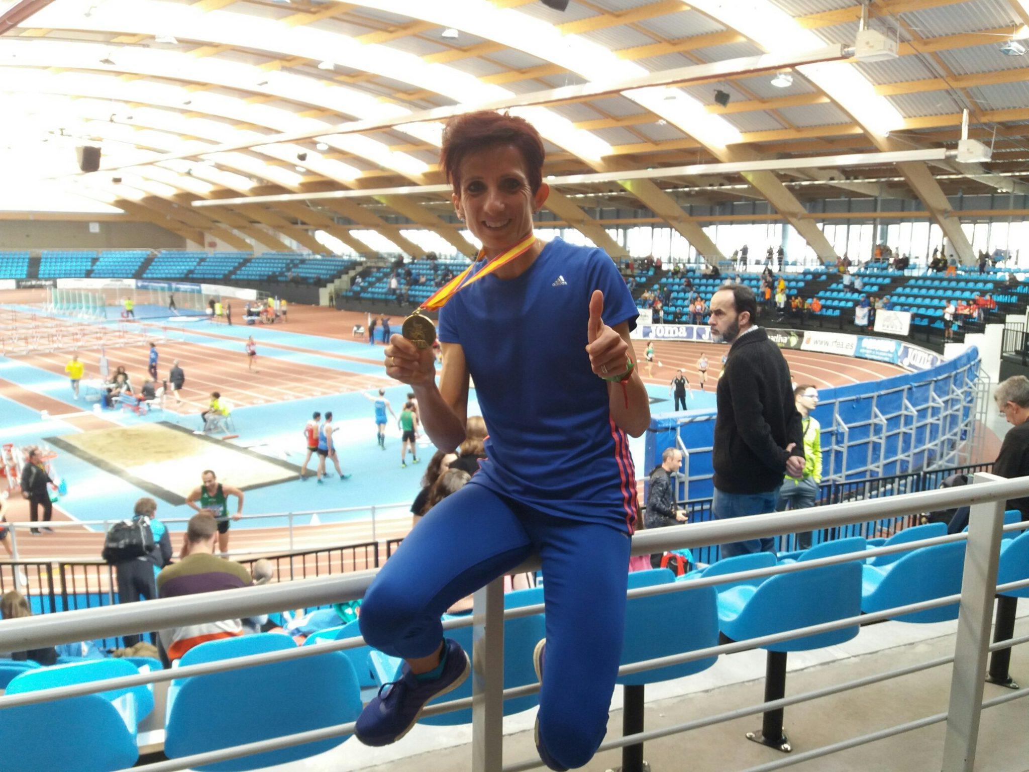 María José De Toro, Campeona De España En 3.000 Metros Lisos