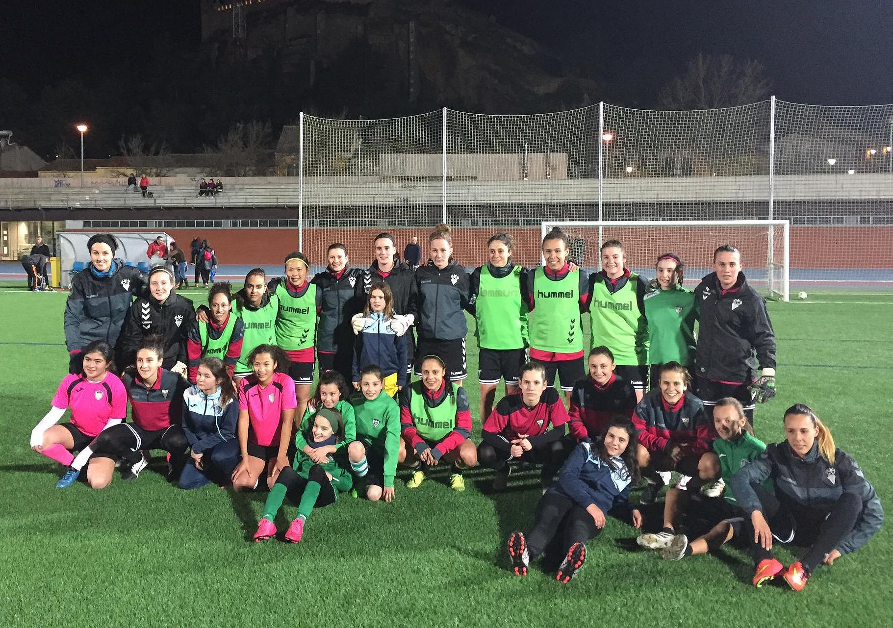 El Fundación Albacete Femenino Entrena Este Jueves En La Roda