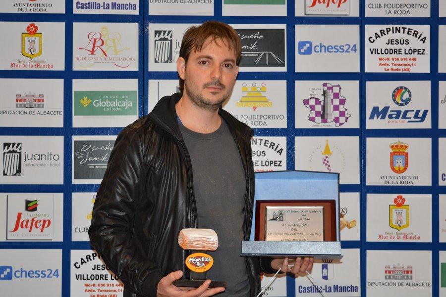 Ganador MI José Ángel Guerra