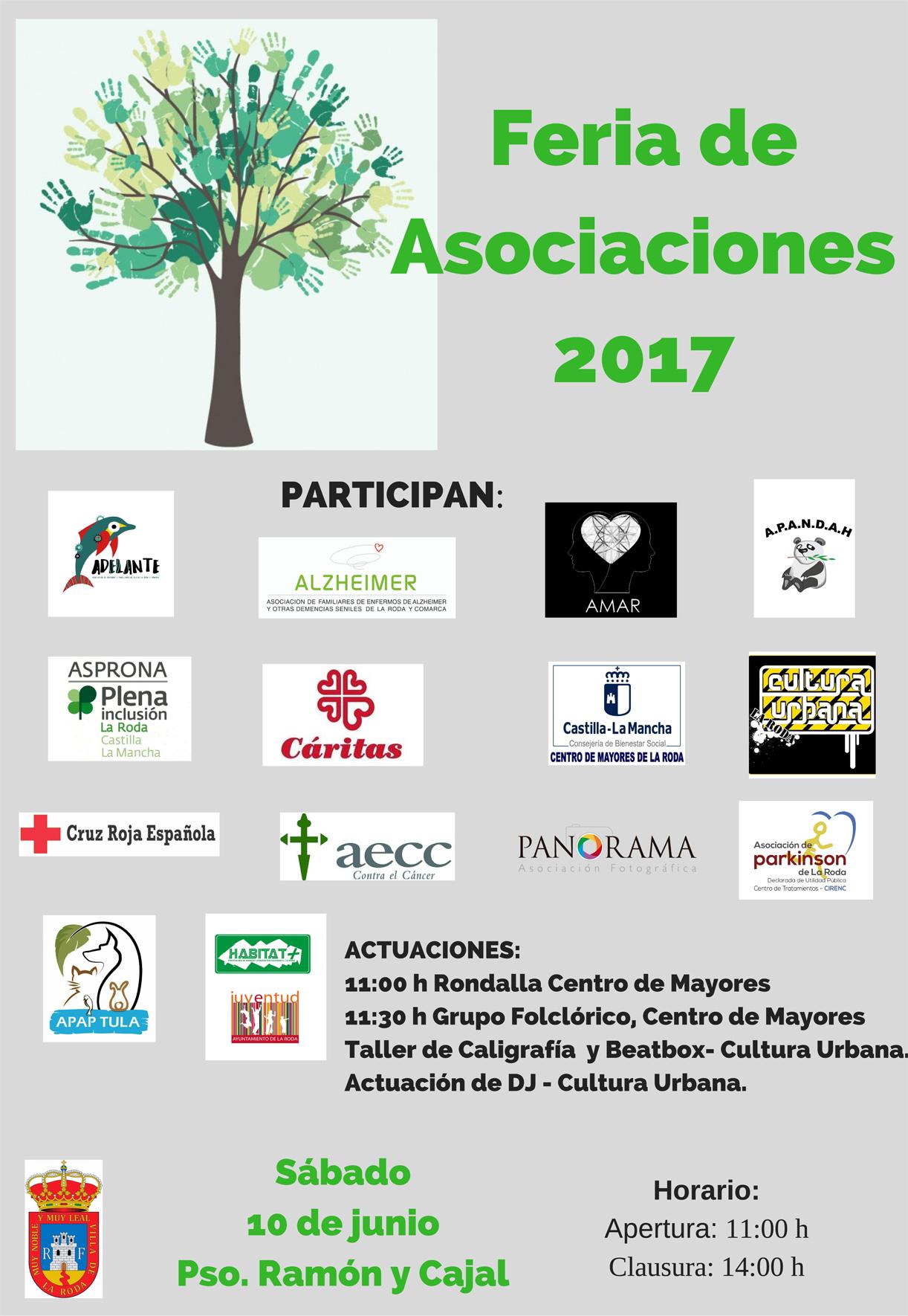 CARTEL Feria DeAsociaciones2017