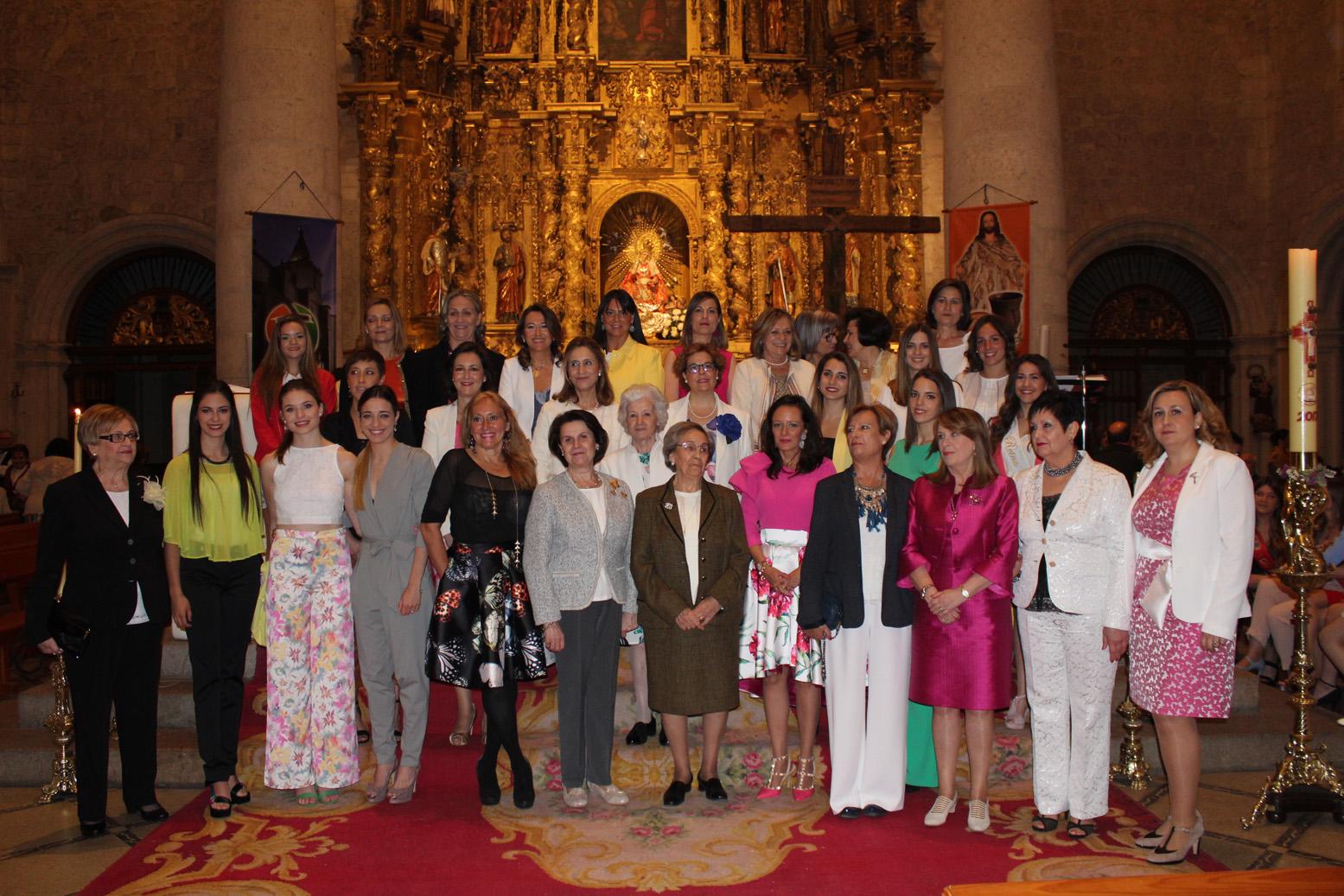 Reinas 75 Aniversario, Misa Homenaje
