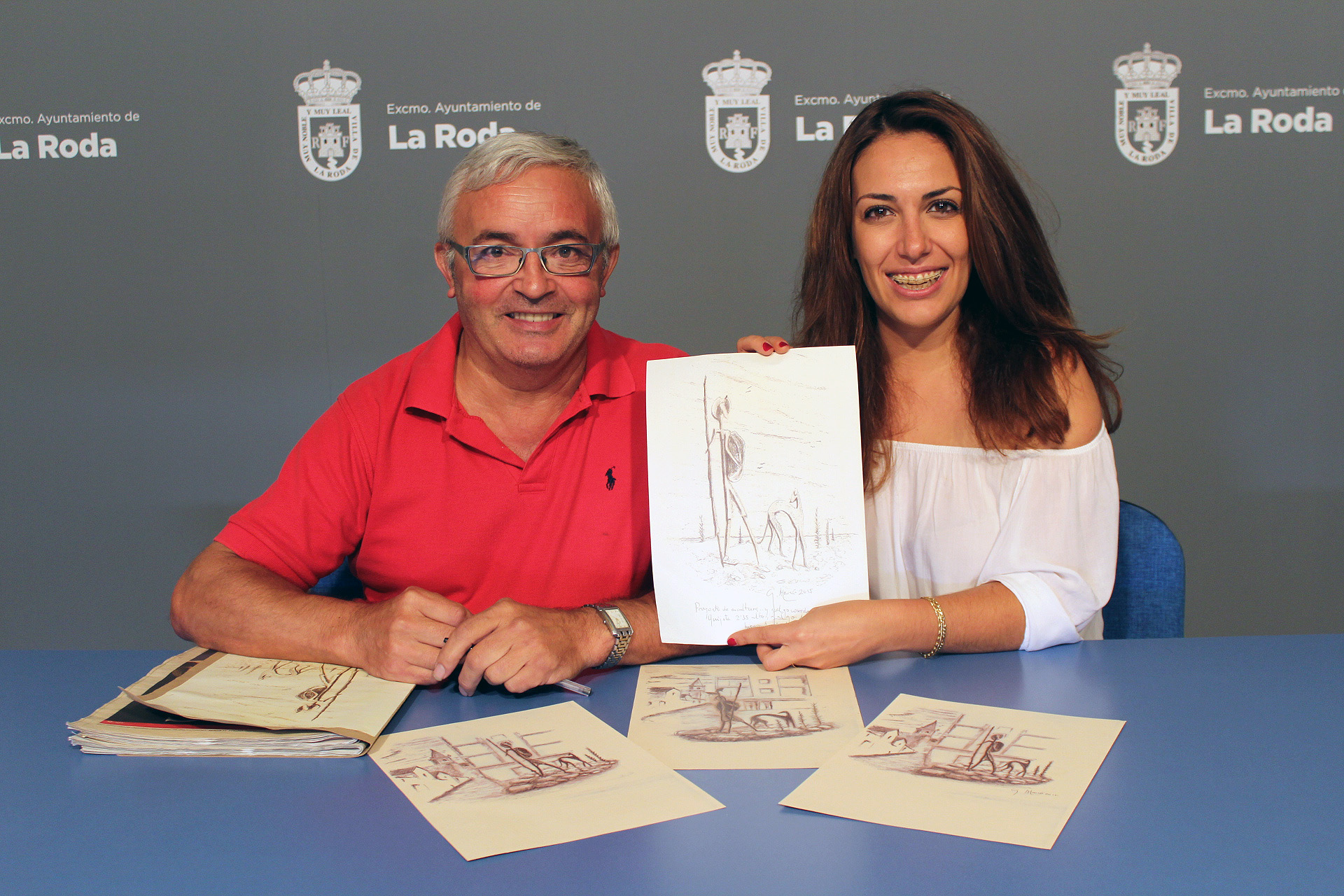La Fundación Quijote Dona Al Ayuntamiento Una Escultura