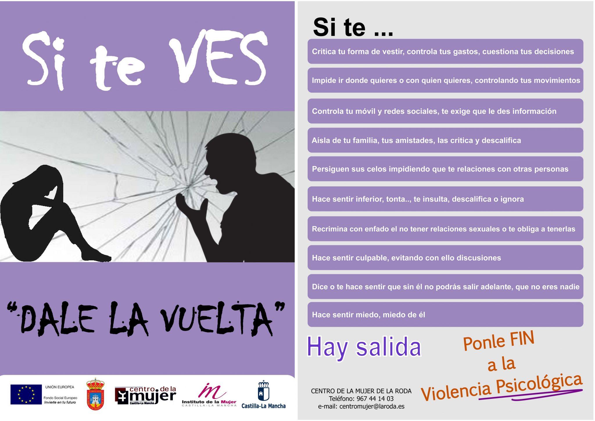 """Presentada La Campaña Contra La Violencia Hacia Las Mujeres """"Si Te Ves, Dale La Vuelta"""""""