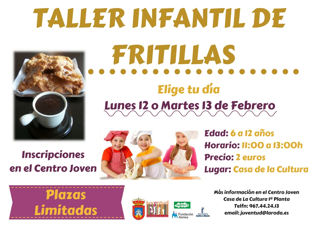 1.TALLER INFANTIL DE FRITILLAS