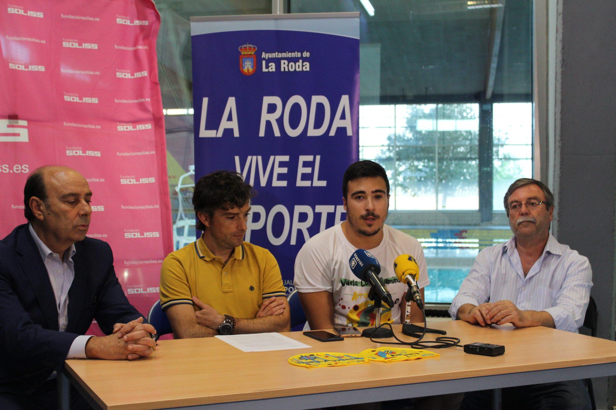 Álvaro Tébar, Adelante La Roda Y CLM
