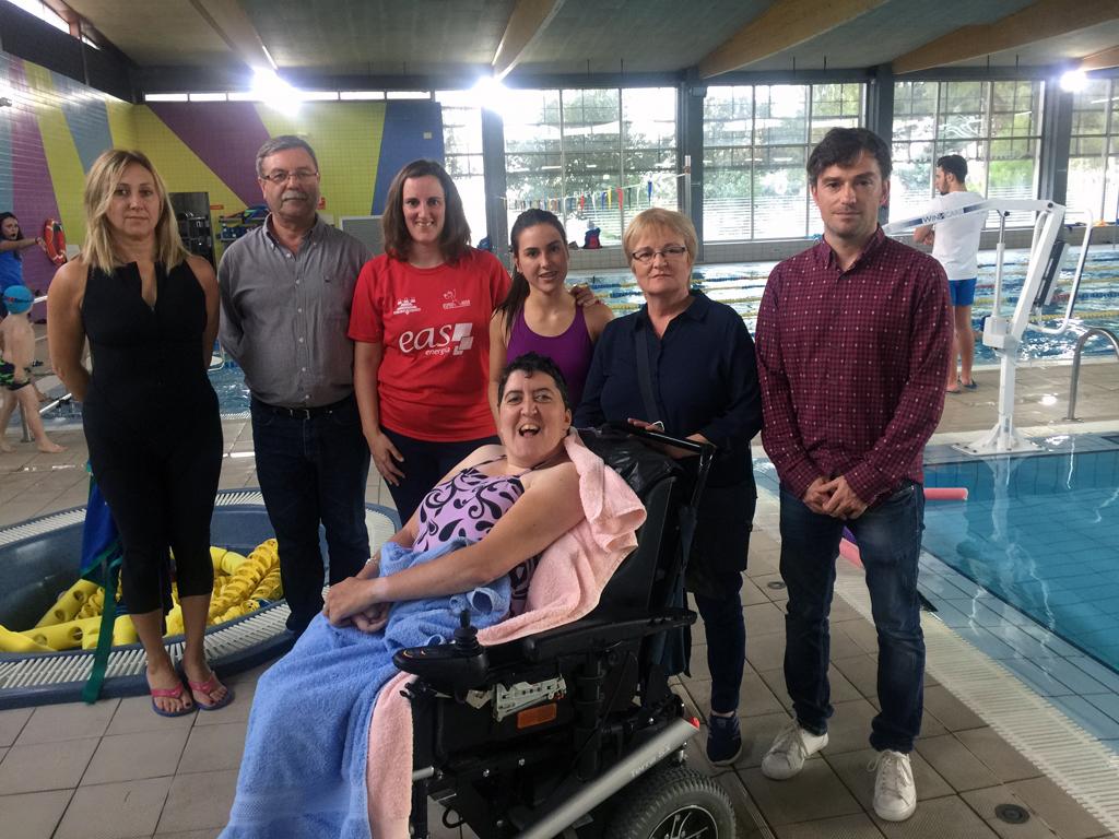 Nueva Grúa De Transferencia Para Personas Con Movilidad Reducida