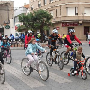 Este Domingo, Paseo Familiar En Bicicleta