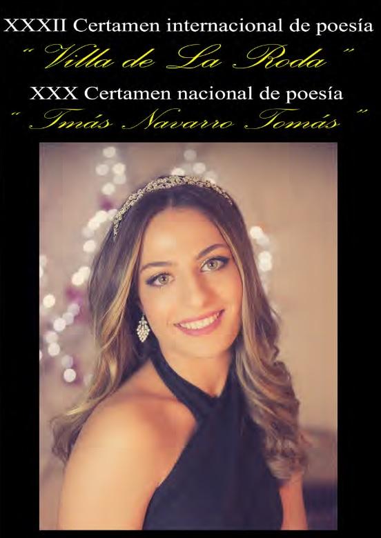 """XXXII Certamen Internacional De Poesía """"Villa De La Roda"""" / XXX Certamen Nacional De Poesía """"Tomás Navarro Tomás"""""""