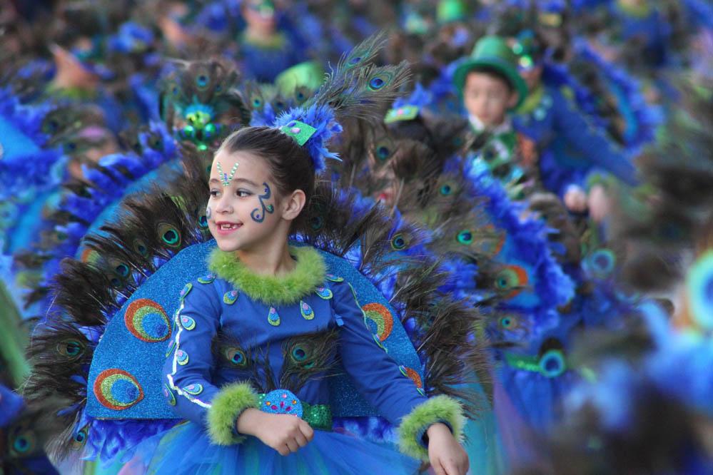 Un Estallido De Color, Luz Y Música Dio Paso Al Carnaval 2019