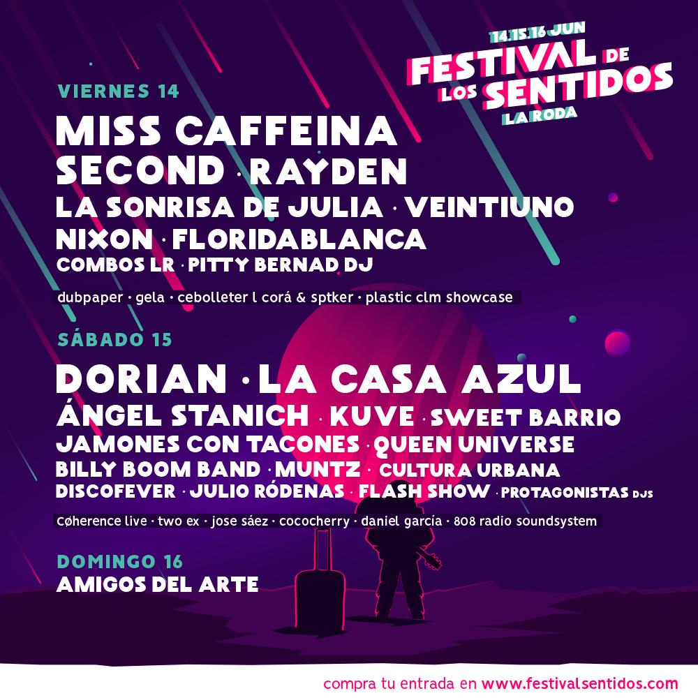 El Festival De Los Sentidos Desvela El Programa Por Días